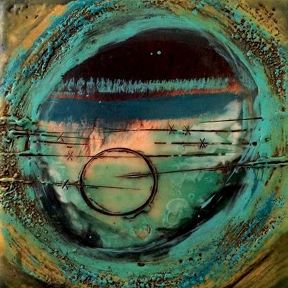Encaustic Wax Painting Artist Kim Mcgill Stuart
