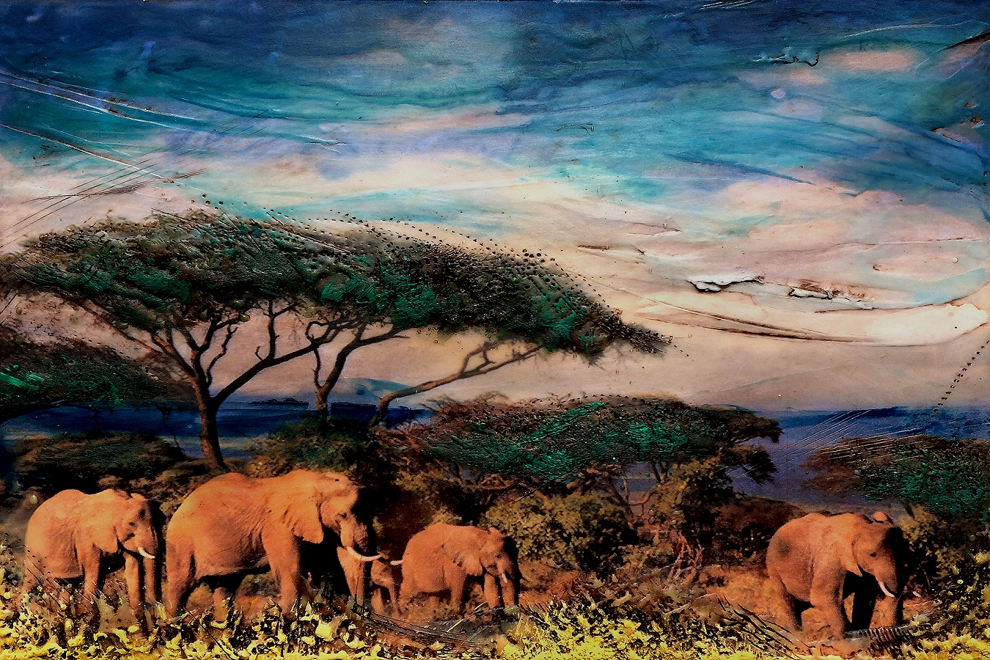 elephants-photo-wax